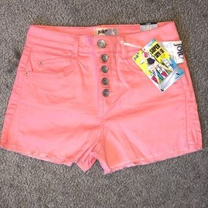 Jolt Women's Button Fly Denim Shorts Size 5